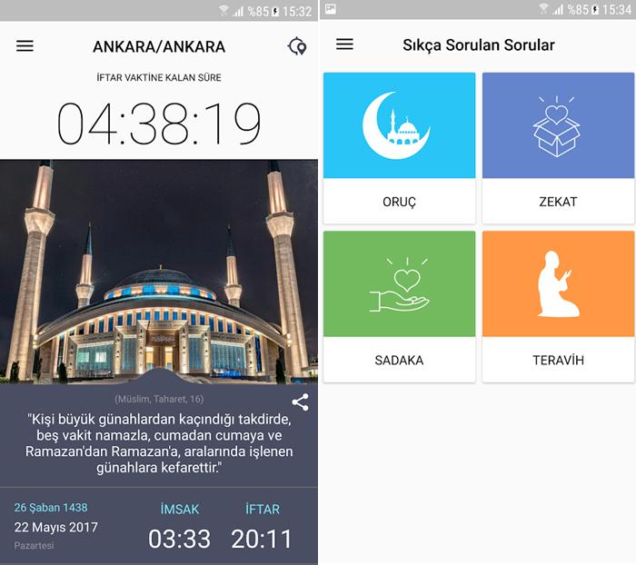 ramazan rehberi app