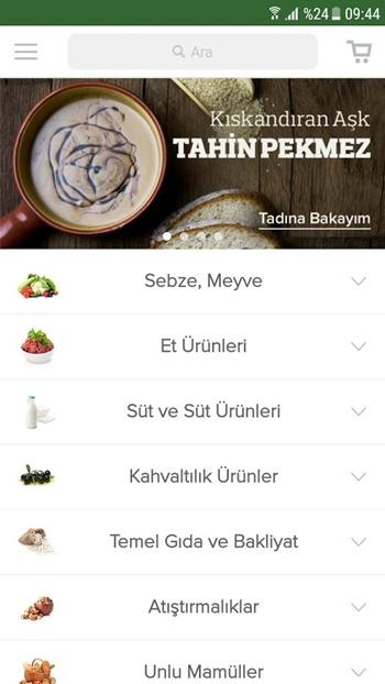 tazedirekt app