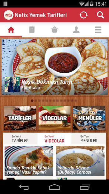Nefis Yemek Tarifleri app