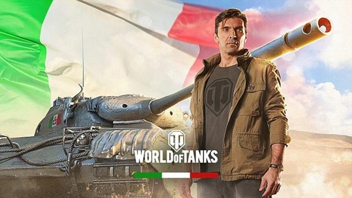 Gianluigi Buffon World of Tanks 1