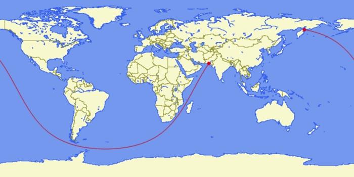En uzun deniz yolu 1
