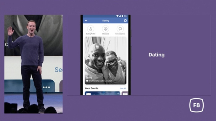 Facebook Dating App