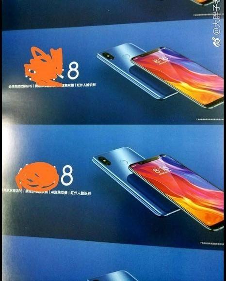 Xiaomi Mi 8 Özellikler