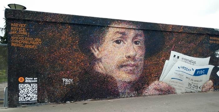 Fransız sokak sanatçısı