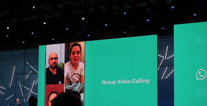 whatsapp görüntülü grup sohbeti