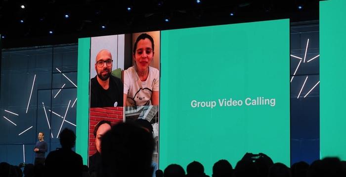 WhatsApp video konferans