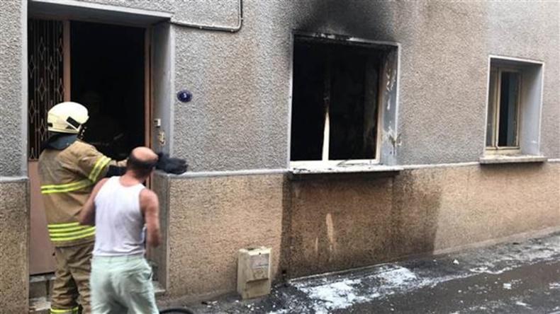İzmir Taşınabilir Batarya Yangın 1
