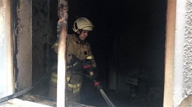 İzmir Taşınabilir Batarya Yangın 2