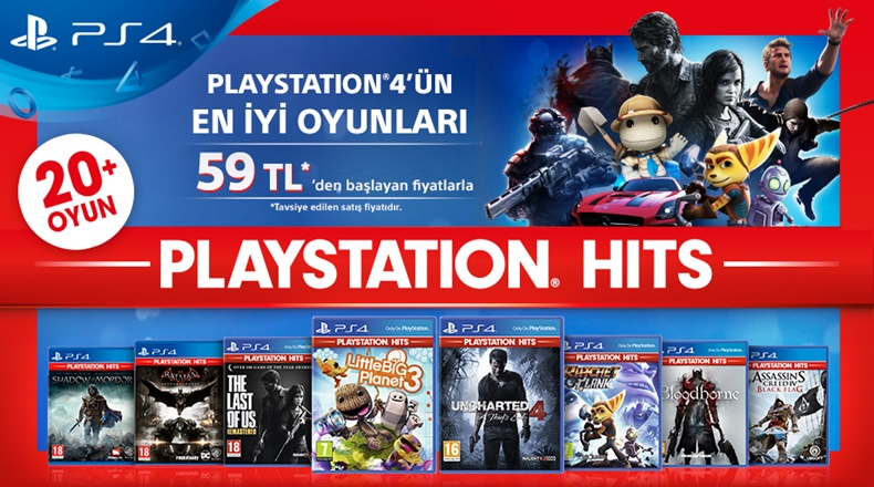 PlayStation Hits indirim