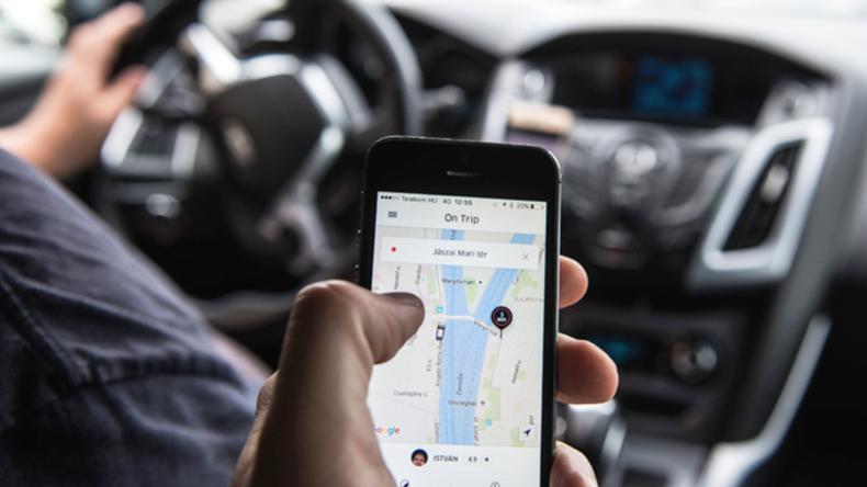 Uber patent başvurusu