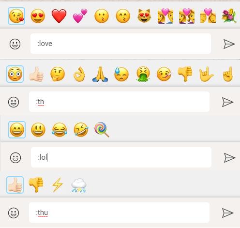 whatsapp emoji grupları