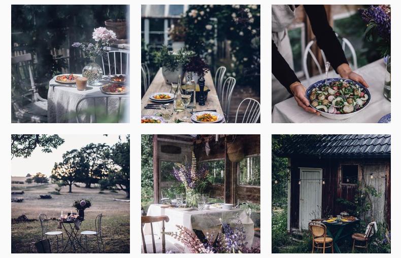 Instagram hesap estetiği