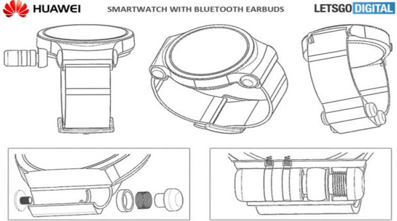 Huawei Yeni Akıllı Saat Patenti 2