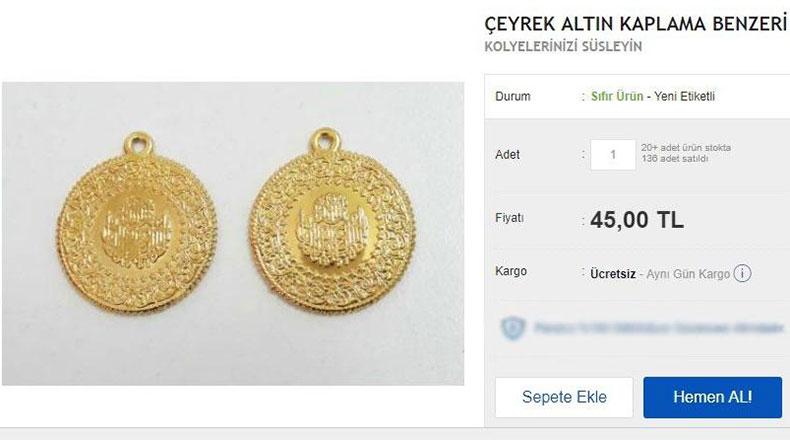 Sahte Altın Fiyatı Orijinaliyle Yarışıyor 2