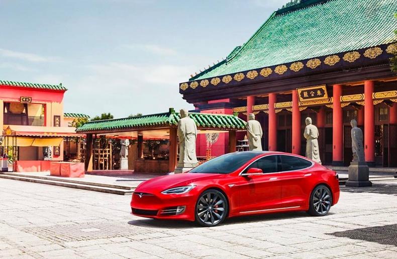 Tesla Çin Vergi
