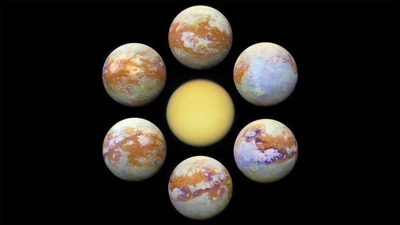 Titan ay nasa