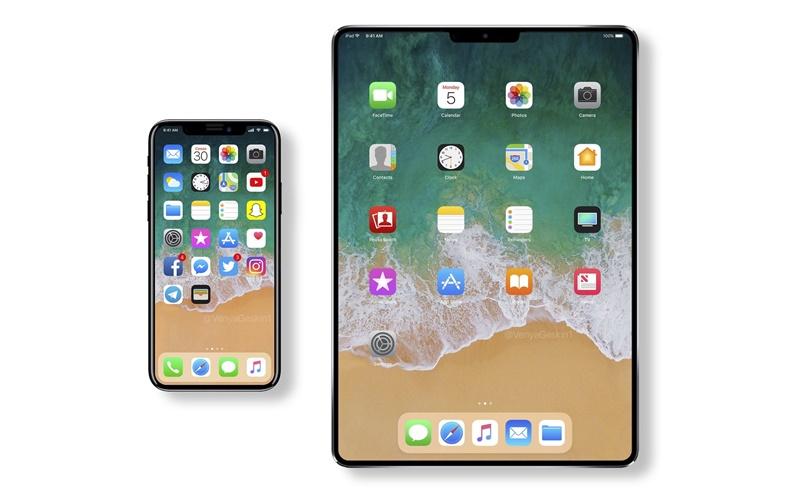 Yeni nesil ipad iphone x