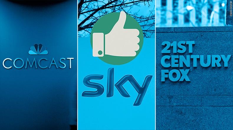 FOX Comcast SKY