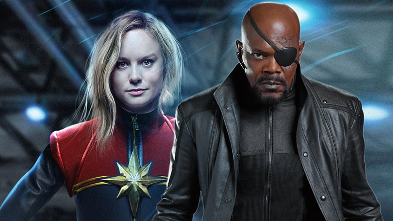 Nick Fury ve Captain Marvel