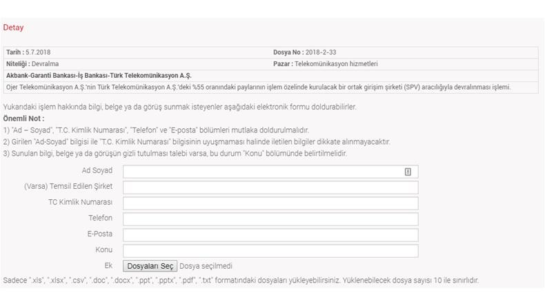 Türk Telekom Rekabet Kurumu