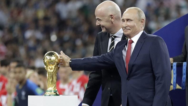 Vladimir Putin World Cup 2018