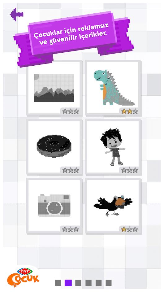 Trt Piksel Boyama Indir Android Için çocuk Oyunu Tamindir