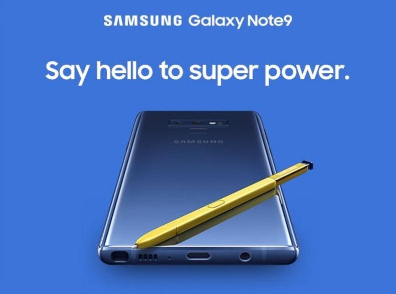 Galaxy Note 9 sızıntı