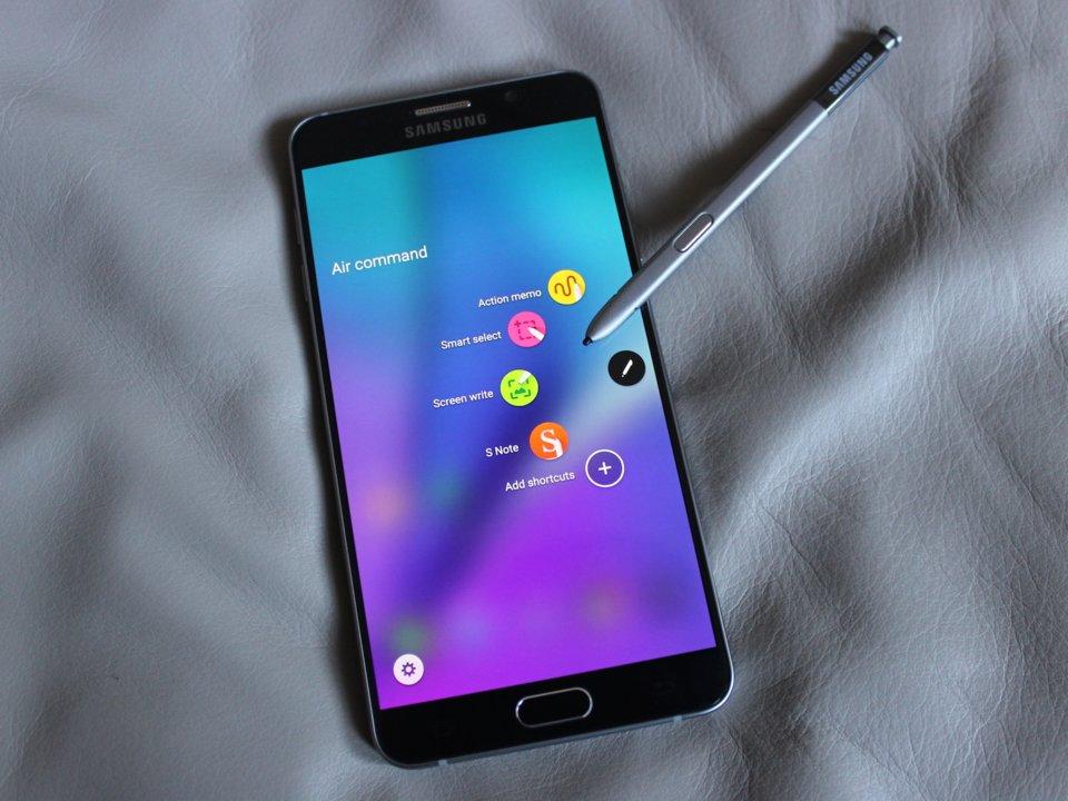 Samsung Galaxy Note 9 Arayüz