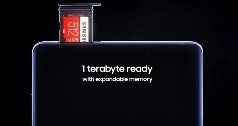 Samsung Galaxy Note 9 1TB