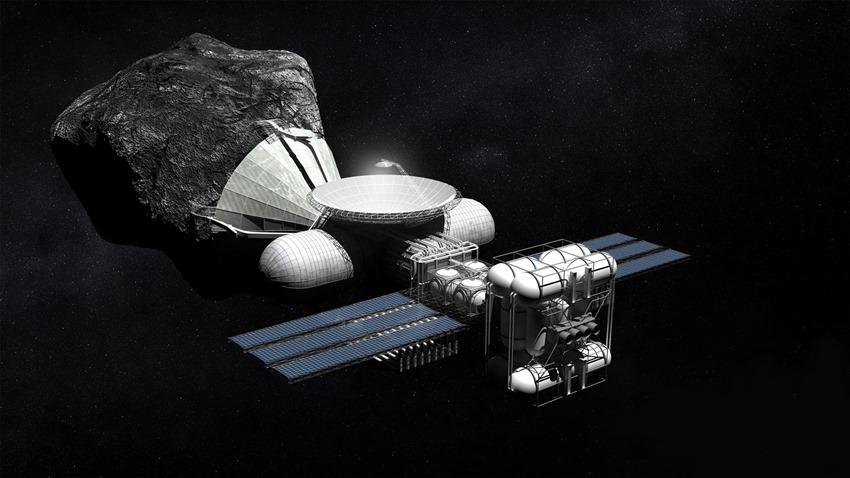 uzay madenciliği sondası
