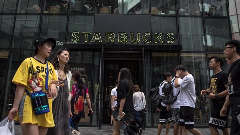 Starbucks Çin alibaba