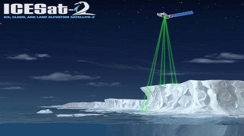 NASA Icesat2 Uydusunu Fırlattı 2