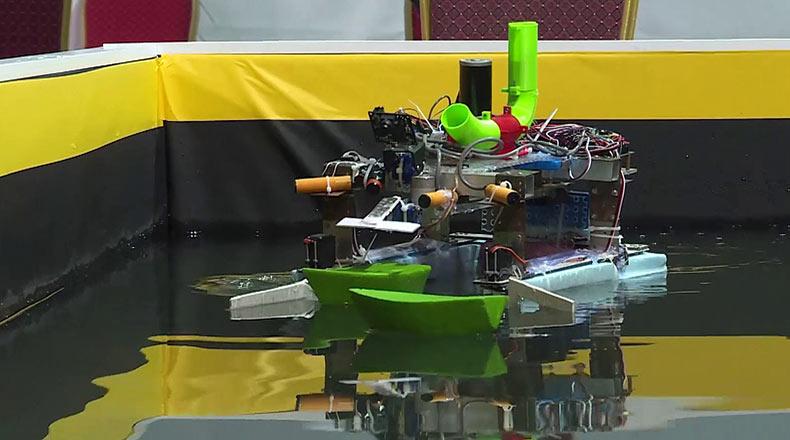 Teknofest İstanbul Fetih Robotu 2