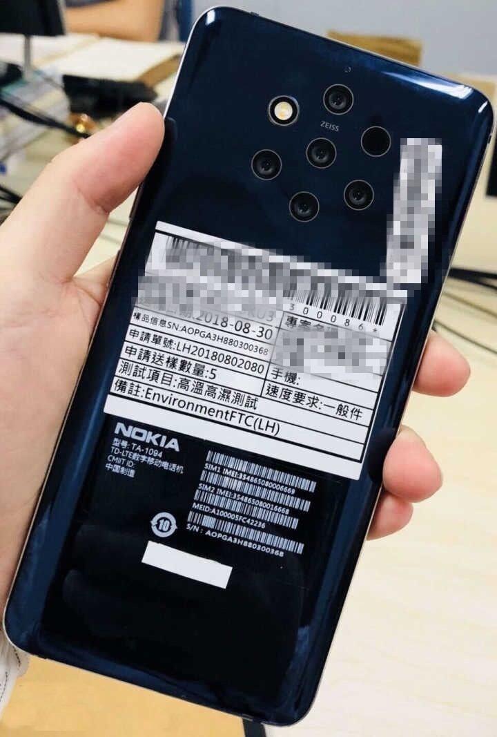 5 kameralı Nokia HMD