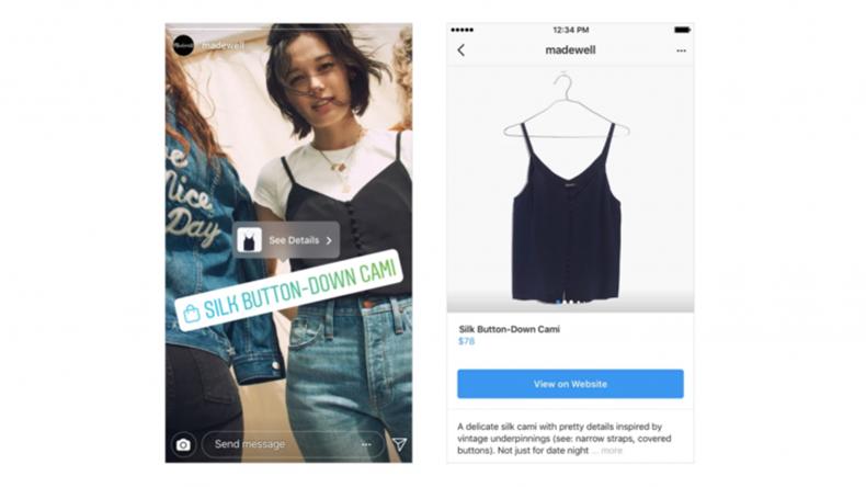 Instagram alışveriş 1