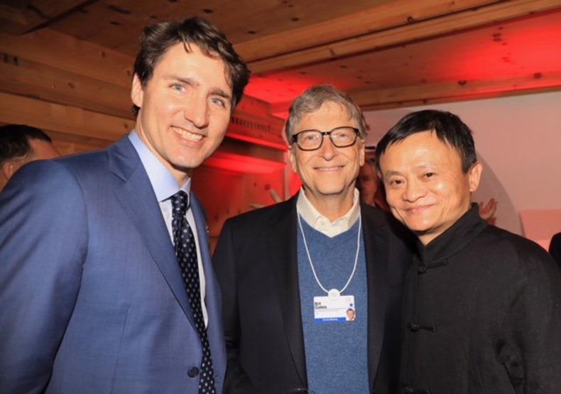 Jack Ma Bill Gates