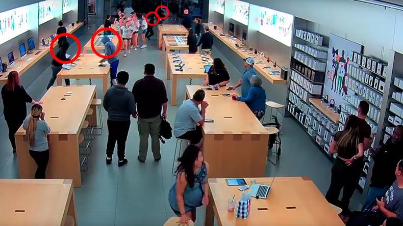 apple mağaza soygunu