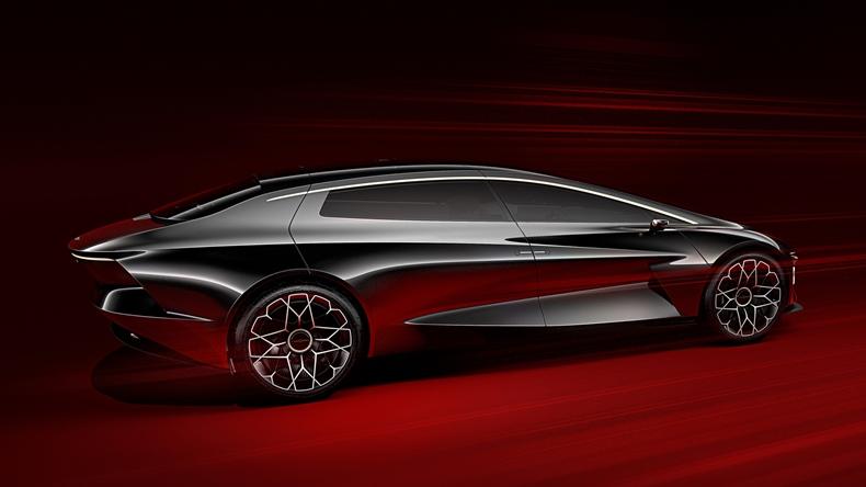 Aston Martin elektrikli otomobil