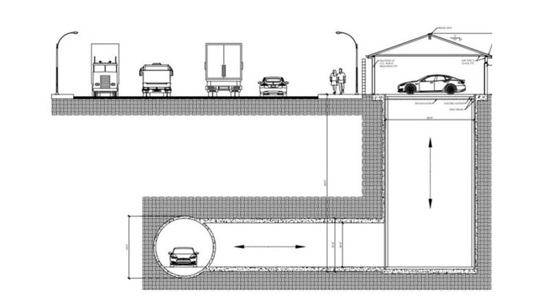 Boring Company tunel