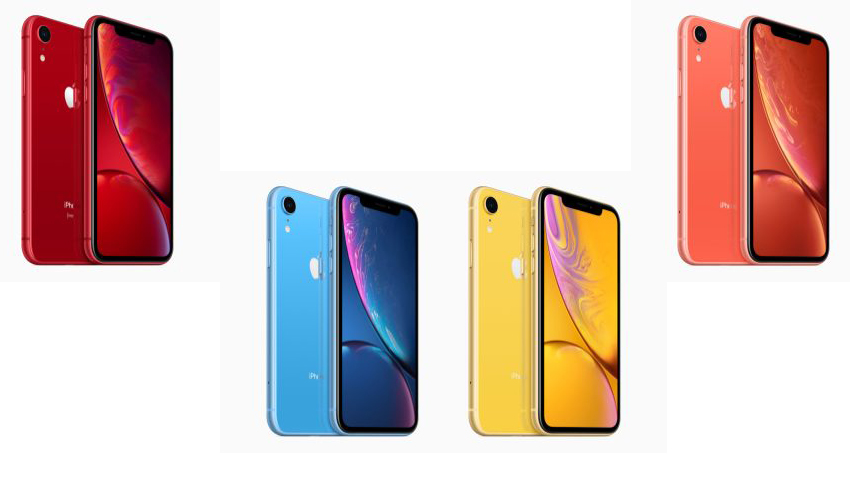 iphone xr renk