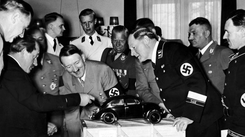 Volkswagen Beetle Adolf Hitler