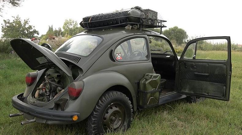 Hitlerin Savaş Otomobili Yeniden Yollarda 2