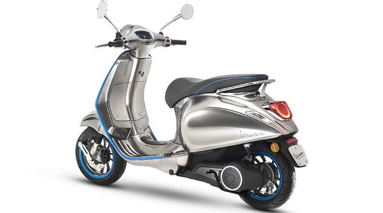 Vespa Elettrica Elektrikli Motosiklet 2