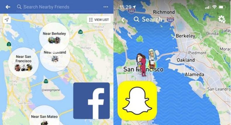 Facebook Snapmap