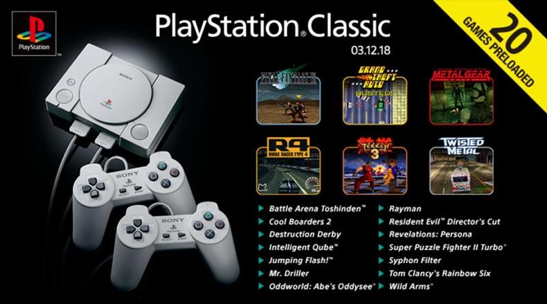 Playstation classic oyunlar listesi