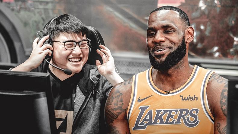 Jian Zihao leBron James Nike