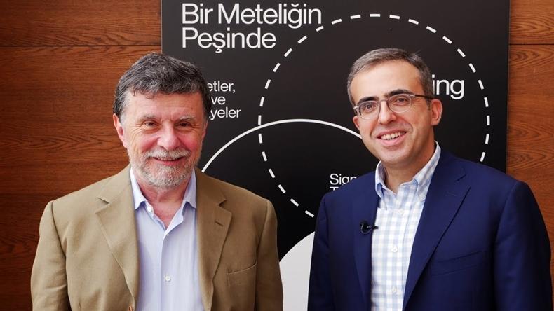 TBV Başkanı Faruk Eczacıbaşı ve BKM Genel Müdürü Soner Canko
