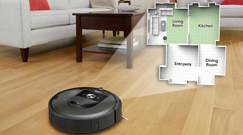 iRobot Roomba Google Akıllı Evler 2