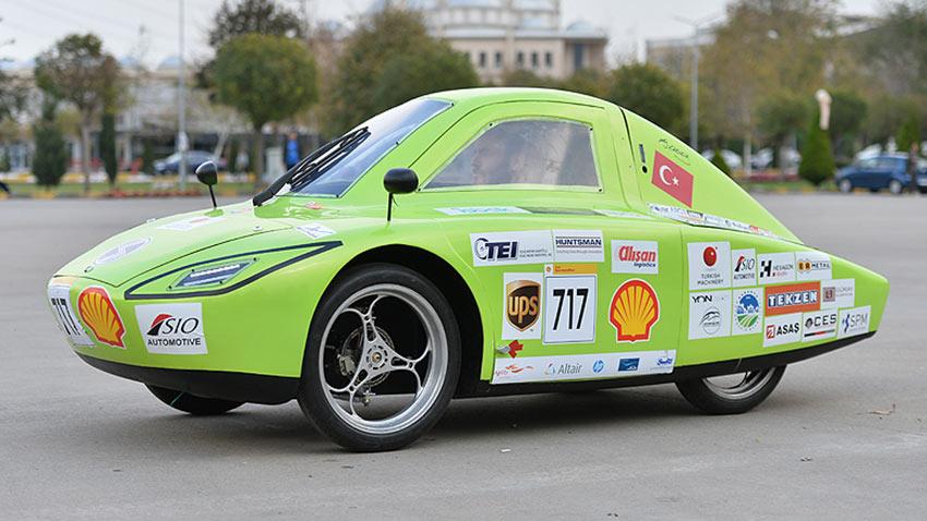 SAU Elektrikli Araç Shell Eco Marathon 2