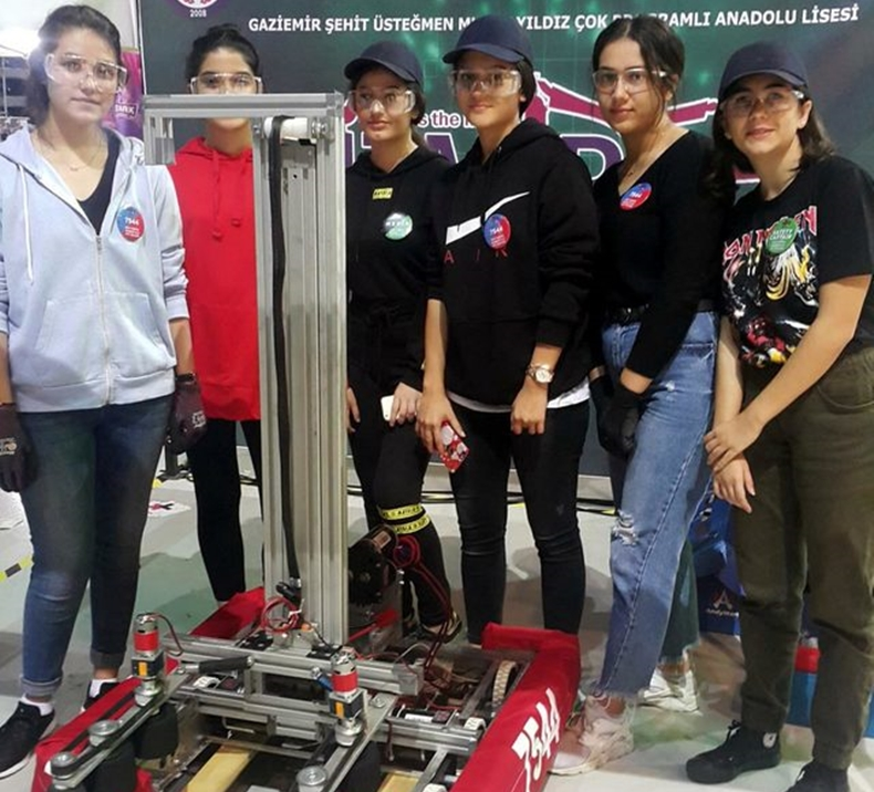 İzmir robot takımı 2
